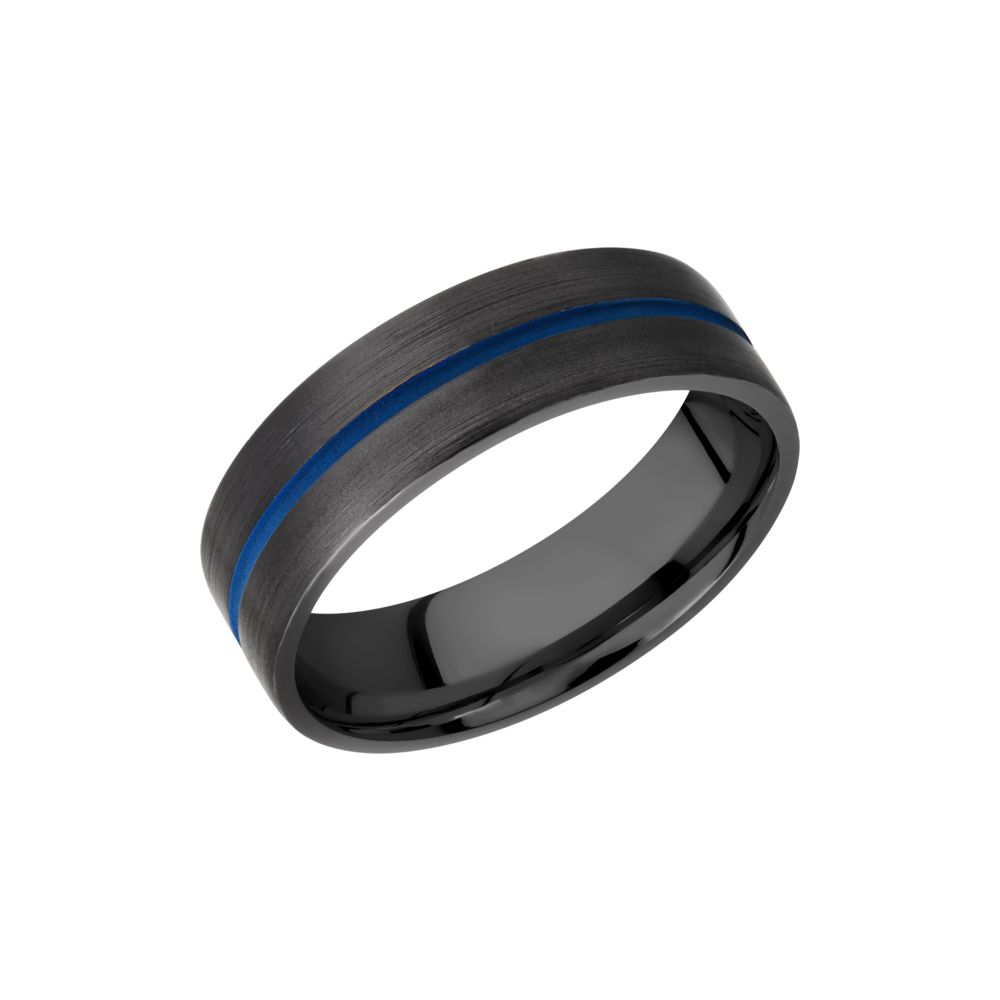 You can never go wrong with a sleek black ring whether its a wedding band or just a causal fashion ring. Shop Manly Zirconium Rings from Crown Jewelers, GA.
