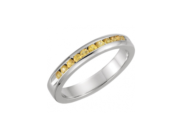 Anniversary Bands with Diamonds and Gemstones set in Gold, Silver, Platinum, Titanium.  Create your own custom jewelry or select from our abundant masterpieces.