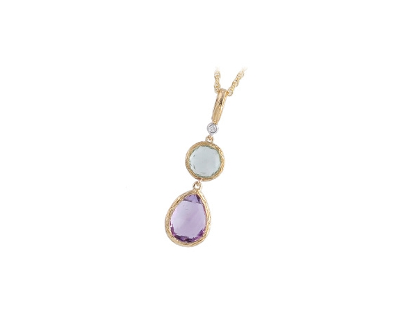 Fashion Jewelry, including Rings, Earrings, Necklaces, Pendants, Bracelets, Pins, in yellow, white, rose gold and sterling silver.  Diamonds & Gemstones, including Pearl (Cultured, Tahitian, Akoya, South Sea, Freshwater, Windsor, etc.), Amethyst (purple and green), Blue Topaz, Aqua Marine, Morganite, Tanzanite, Rose Quartz, Sapphire (pink, blue), Ruby, Garnet, Citrine, Peridot, etc., are featured in many of our Fashion Jewelry pieces.  Our designer jewelry includes Allison Kaufman, Ostbye.