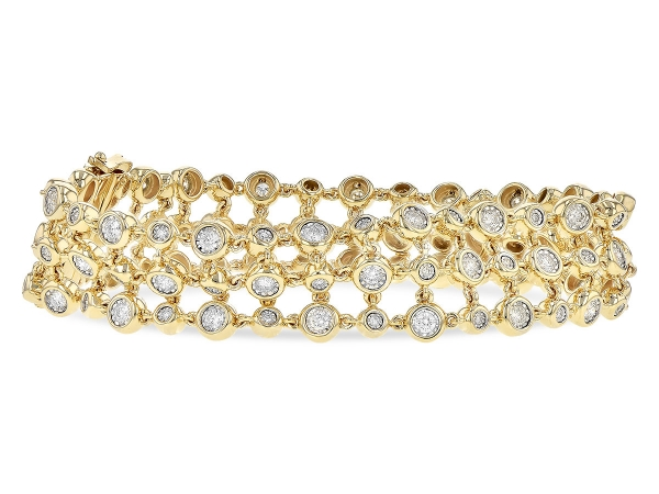 Parris Jewelers has been the trusted fine diamond jeweler for Hattiesburg, Mississippi for over 70 years. View our Bracelets online.