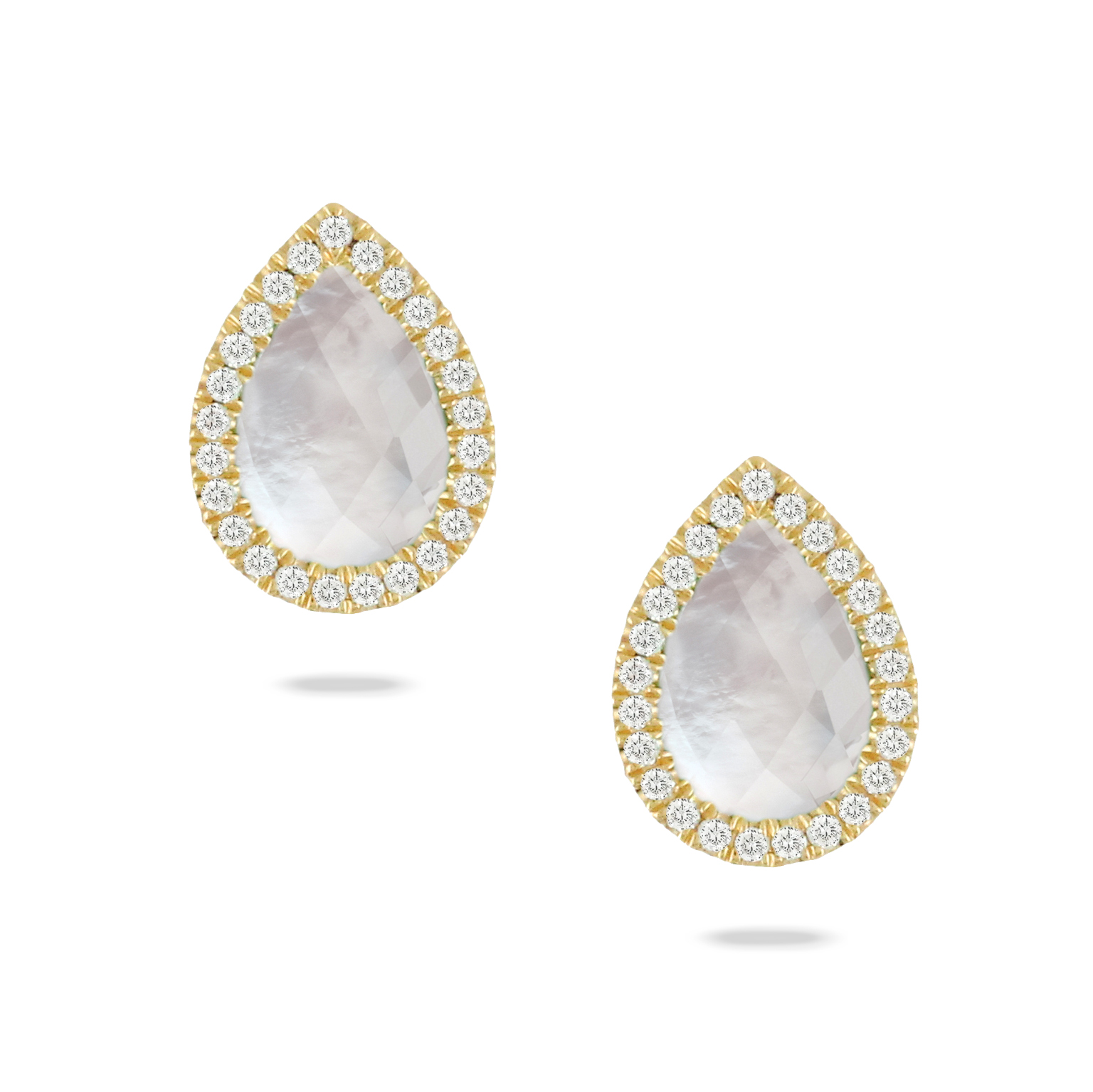 Turn heads with R. Gregory's earrings. Browse delicate models with pearls, crosses, and flowers. Our earrings come in gold or platinum in more than 700 styles.