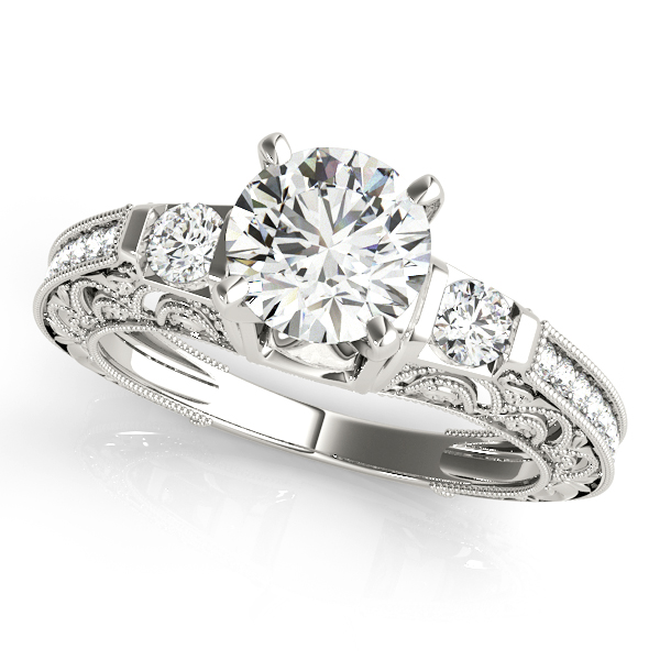 Choose from wide variety of unique halo engagement & bridal rings in different shapes and sizes. Whether you would like create your own or choose one that has been handcrafted by one of our designers.